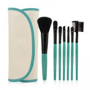 hottperfume-7-pc-makeup-brush-set-in-white-case-with-green-trim-1