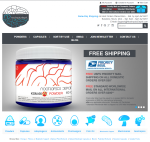 nootropics-depot-website