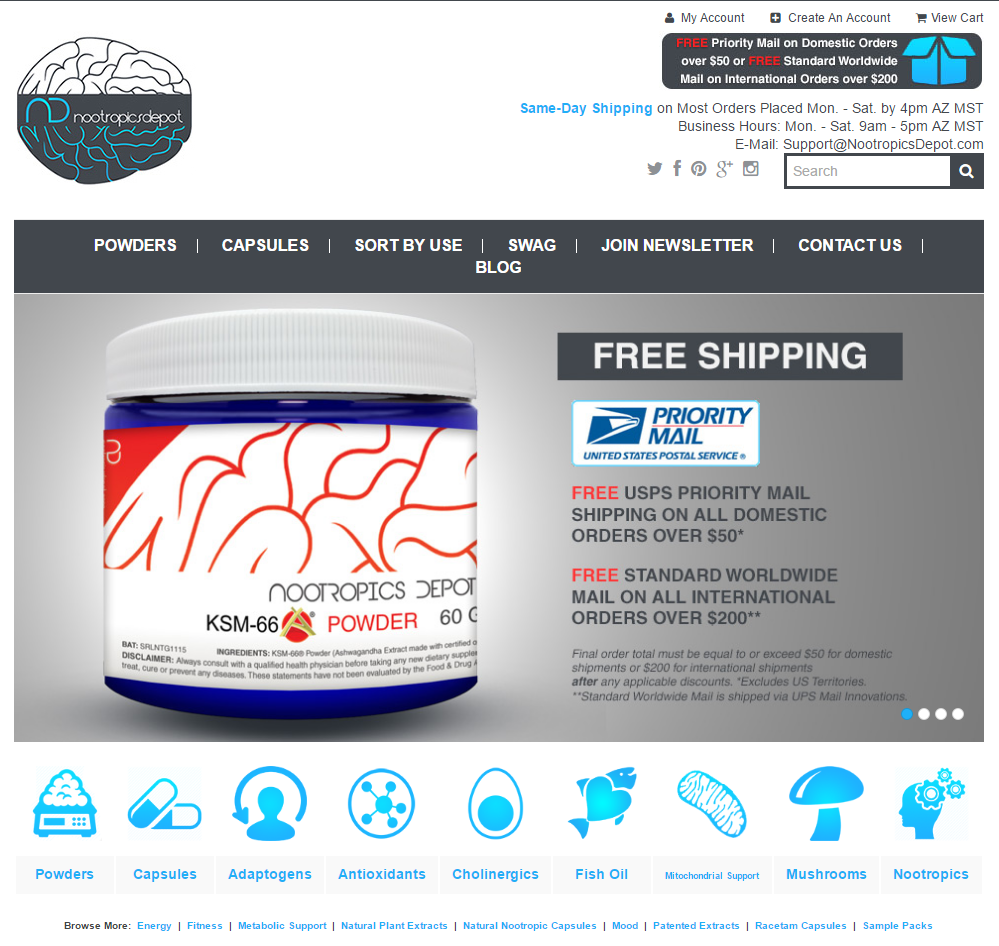 Nootropics Depot Review Brain Health Supplements 2019 Promo Codes
